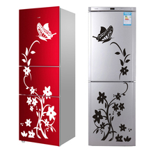 Decoration Black Refrigerator Mural