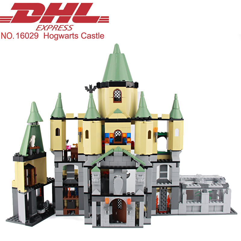 Lepin 16029 1033Pcs Hogwarts Castle Model Building Kits Blocks Bricks Educational Toys For Children Compatible With 5378 china brand 16029 educational bricks toys diy building blocks compatible with lego hogwarts castle 5378