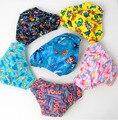 Venta al por menor traje de baño infantil Del Bebé pañales de natación infantil troncos de nadada del bebé lindo traje de baño de natación infantil (0-2 años)