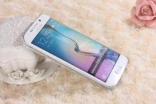 Transparent Dynamic Liquid Sands Cases For Samsung Galaxy S6 Edge G9250