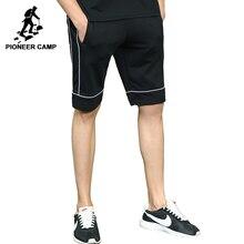 Пионерский лагерь Новые летние мужские шорты бренд-одежда черные повседневные короткие брюки мальчиков высокое качество Бермуды для мужчин ADK702159