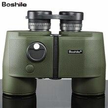Boshile Militär Fernglas High Powered 7X50 Teleskop Professionelle Wasserdichte fernglas mit Digital Kompass Lll Nachtsicht