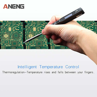 New 1 Set Mini Portable 65W Programmable TS100 Electric Soldering Iron Digital LCD Hot Selling Welding Equipment