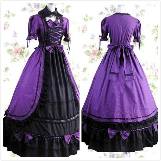 Anime Victorian Clothing