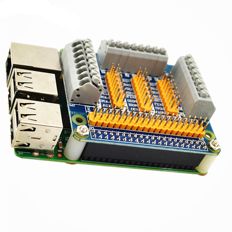 High Quality Raspberry Pi 3 Model B GPIO Expansion Board Multi-function Extension Adapter Plate for Orange Pi Raspberry Pi 2