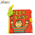 6M+ Baby Toys Mobile Cloth Book Soft Early Educational Toys for Toddlers Parent-Child Cognitive Toy jouet Livre pour bebe