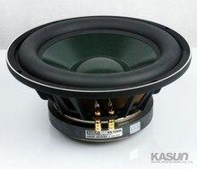 1 шт. Kasun KS-10456 10 »динамик сабвуфера блок литья алюминиевой корзины массивный резиновый объемный Fs = 32 Гц 8 Ом 250 Вт d260мм