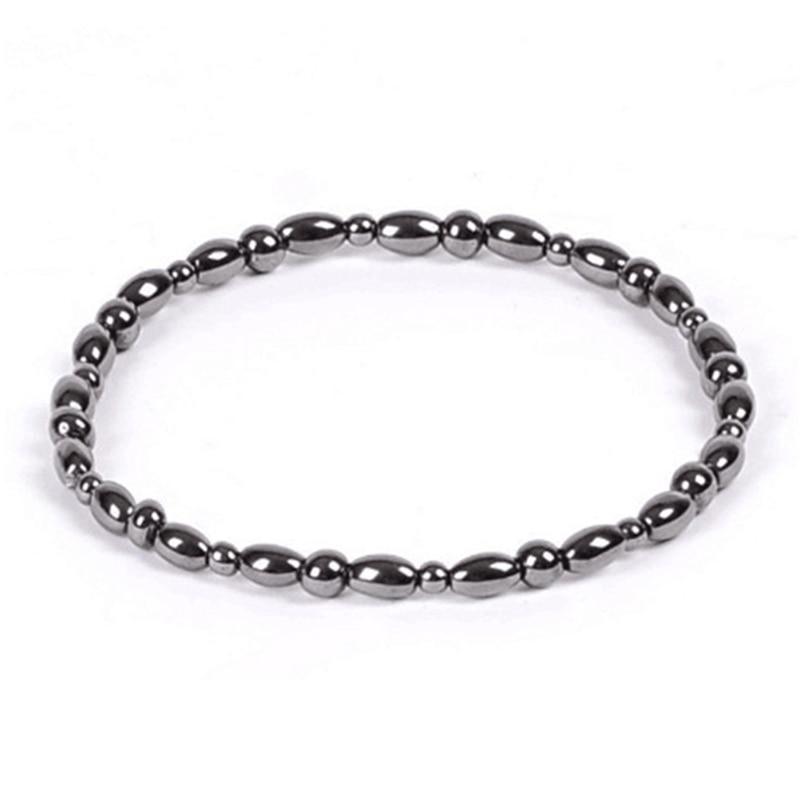 Magnetic Stone Leg Anklets For Women Accessories Men Black Ankle Bracelet Gifts Lose Weight Feet Bracelet Foot Womens Jewellery