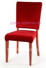 Hot sale Aluminum dining chair LUYISI8518,stackable,high density foam,5pcs/carton,safe package