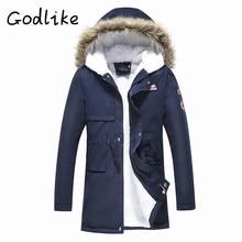 GODLIKE Žiemos vyrų paminkštinta striukė, jaunimo laisvalaikio drabužiai Pietų Korėjoje su storais medvilniniais drabužiais, nauja didelio dydžio striukė.