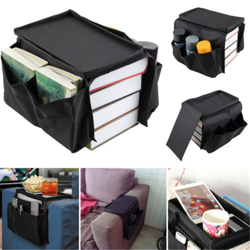 Us 5 54 Off Modern New And Fashion Creative 6 Pocket Couch Buddy Remote Control Holder Sofa Arm Rest Organizer Caddy Bag Bk In Storage Bags From