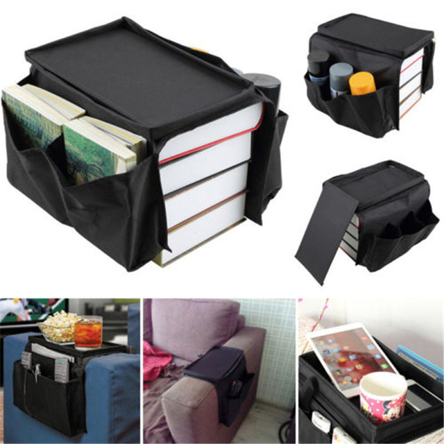 Modern New And Fashion Creative 6 Pocket Couch Buddy Remote Control Holder Sofa Arm Rest Organizer