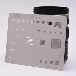 Image 4 - 12 pcs IC תיקון BGA עיבוד חוזר Reball Reballing סטנסילים סט עבור iPhone X 8 בתוספת 8 7 6 6 S 5S 4S תבנית תיקון ישיר חימום כלים