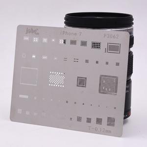 Image 4 - 12pcs IC Repair BGA Rework Reball Reballing Stencils Set for iPhone X 8 Plus 8 7 6 6S 5S 4S Template Repair Direct Heating Tools