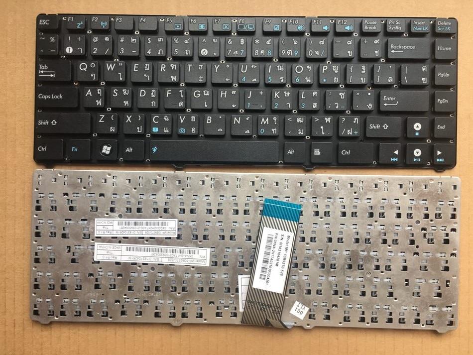 New TI Thailand keyboard for ASUS UL20 EeePC Epc 1215T 1215 1215N 1215P 1215PED 1215PN TI Layout Laptop Keyboard