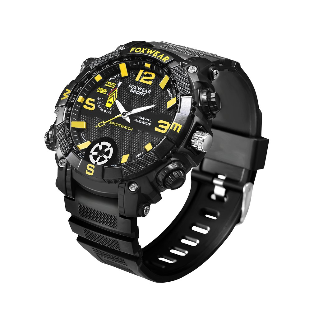 FOX9 Outdoor Sports Smart Watch 5 Million high-definition Camera WiFi Remote LED Lighting 720PHD High Definition 16G/32GFOX9 Outdoor Sports Smart Watch 5 Million high-definition Camera WiFi Remote LED Lighting 720PHD High Definition 16G/32G