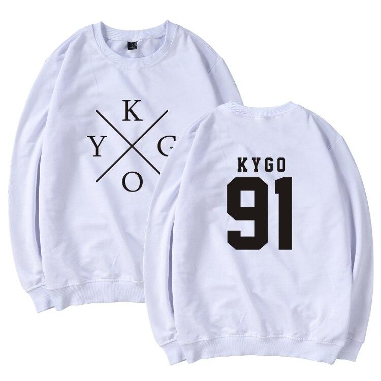 LUCKYFRIDAYF 2017 DJ Kygo Men/Women Hip Hop Harajuku Casual Fans Club Hoodies Men Sweatshirt Streetweat Winter Hoodies