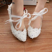 Buy cute flat wedding shoes and get free shipping on AliExpress.com
