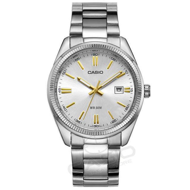 970b0768756 Online Shop Casio classic Watch Fashion Relogio Luxury Quartz WristWatch  Men Casual business simplicity Waterproof 5 bar Watch MTP-1302 gift