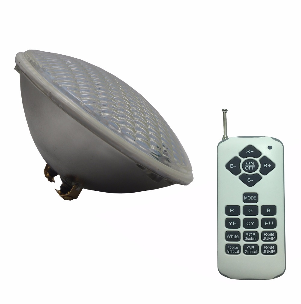 Multiple Color PAR56 Bulb 12V AC Swimming Pool Light LED Underwater Lamp RGBWW with Remote Control IP68