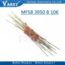 20 шт. Термальность резистор NTC MF58 3950 B 10 К Ом 5%