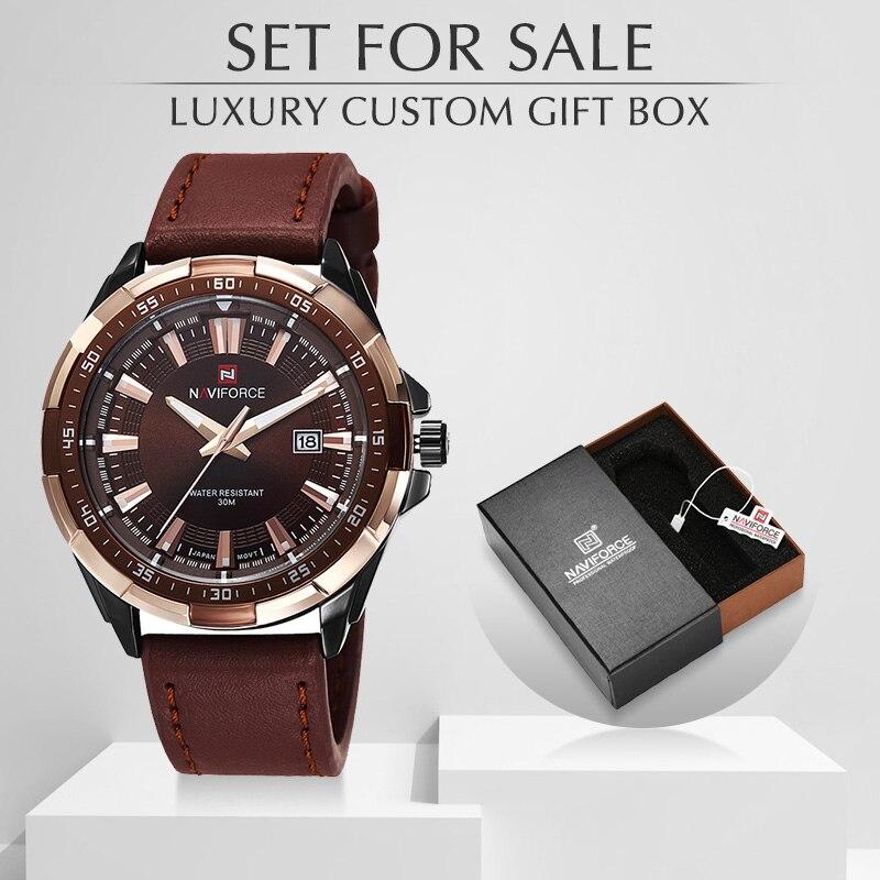 Часы NAVIFORCE мужские, спортивные, водонепроницаемые, кварцевые, с коробкой|Спортивные часы|   | АлиЭкспресс