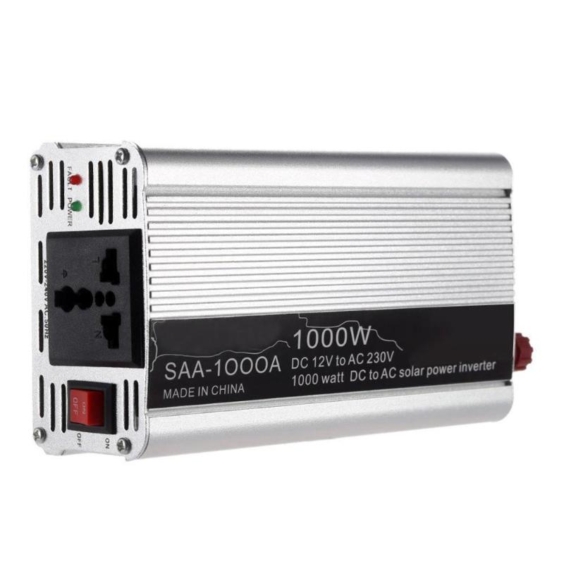 1000 watt Peak Modifizierte Sinus Welle Auto Auto Power Inverter DC 12 v/24 v zu AC 220 v ladegerät Konverter Adapter