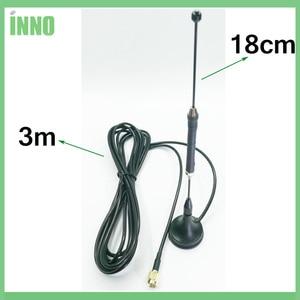 Image 4 - 20 pz/lotto 4G LTE Antenna SMA Maschio 10dbi 3g 4g lte Antenna 698 960/1700 2700 mhz con base magnetica RG174 3M Cavo Antenna Ventosa
