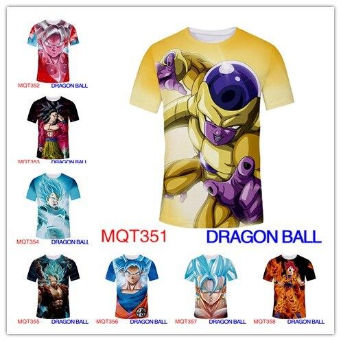 Dragon Ball Anime T Shirt Unisex New Fashion Hip Hop Streetwear Tops Tees Casual Funny Graphic Tshirt Plus Size m-XXXL 3D Price $18.99