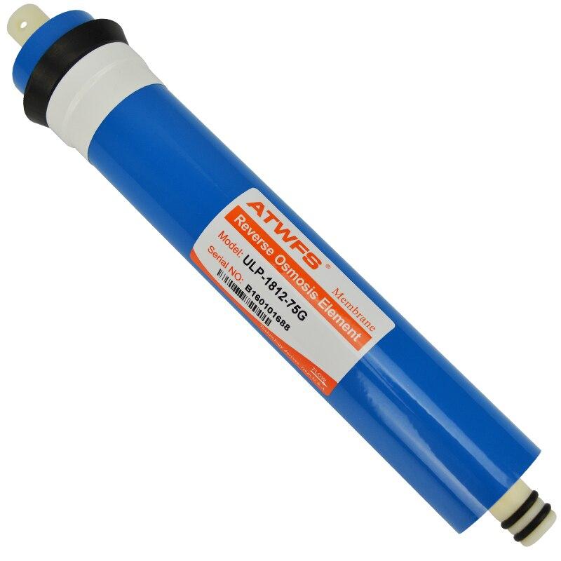 75gpd Reverse Osmosis Membrane ULP 1812 75G Water Filter Cartridge Water Purifier General Common RO Filter