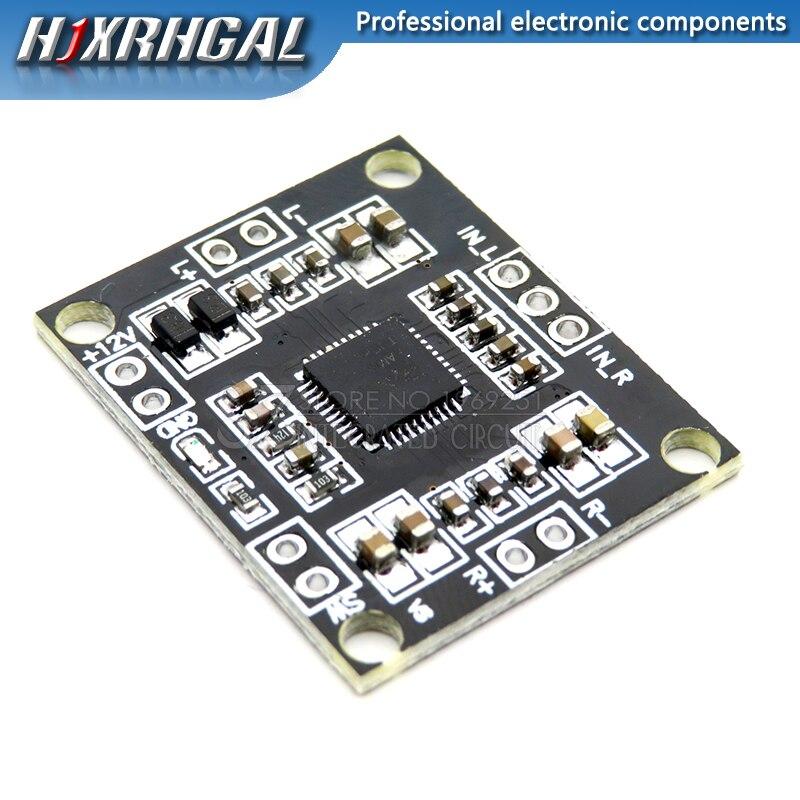 10PCS PAM8610 12v digital power amplifier board 2 x15w dual channel stereo mini class D power amplifier board