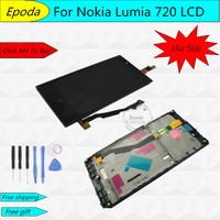 Original For Nokia Lumia 720 LCD Touch Screen For Nokia Lumia 720 Display Digitizer Assembly Replacement