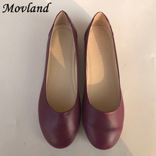 New style Head layer cowhide pure handmade shoes, the retro art mori girl shoes,Women's casual shoes Flats shoes,#7010/ 2 colors