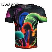 Haute Qualité Lumineux D'été Hommes T-Shirt Tops Nouvelle Mode Coton T-shirt 3d T-shirt Vêtements Chaude O-cou Date Style De Mode T-Shirt