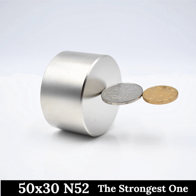 N52 Neodymium magnet 50×30 mm super strong magnets 40x20mm round powerful permanent magnetic Rare Earth NdFeb HOT gallium metal