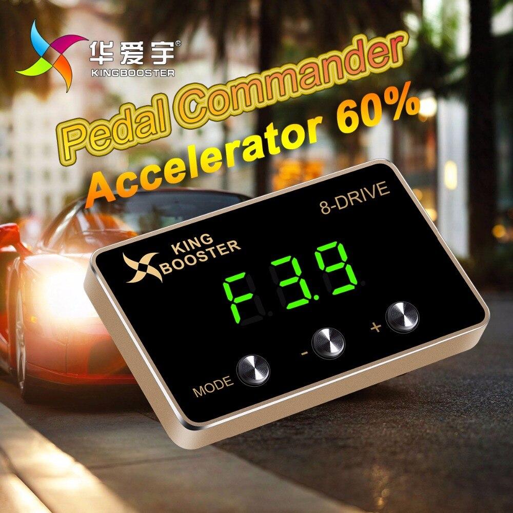 Режим гонки Скорость Booster Мощность конвертер Авто дроссельной заслонки Управление автомобиль педаль Commander для NISSAN NP300 2008 +