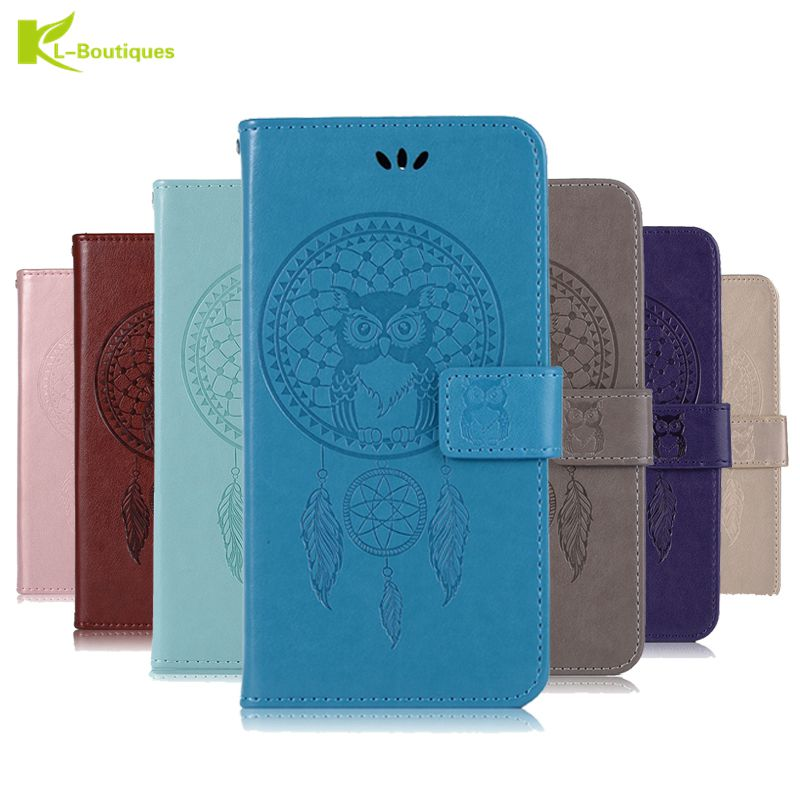 J4 2018 Leather Case on for Fundas Samsung Galaxy J4 2018 3D Owl Case for Samsung Galaxy J4 2018 Wallet Flip Magnetic Case Cover