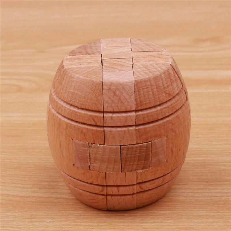 3D trä pussel Luban Lås Pussel Spel Leksaker För Barn Vuxna Barn - Spel och pussel - Foto 3