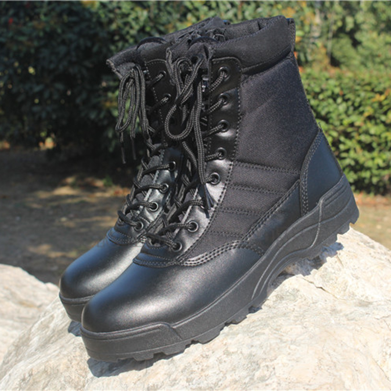 Hiking Shoes for Men Desert High-top Breathable Tactical Climbing Boots