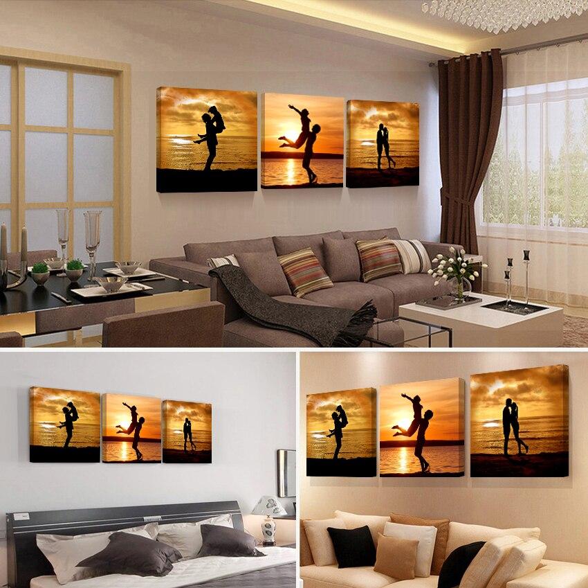 US $6.94 27% di SCONTO|Stampe su tela mondo mappa immagine camera da letto  soggiorno schilderijen astratta moderna trittico dipinto vintage ...