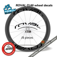 ROVAL CL60 wheel stickers road bicycle Carbon knife decals ROVAL wheel rims stickers decals for two wheel stickers