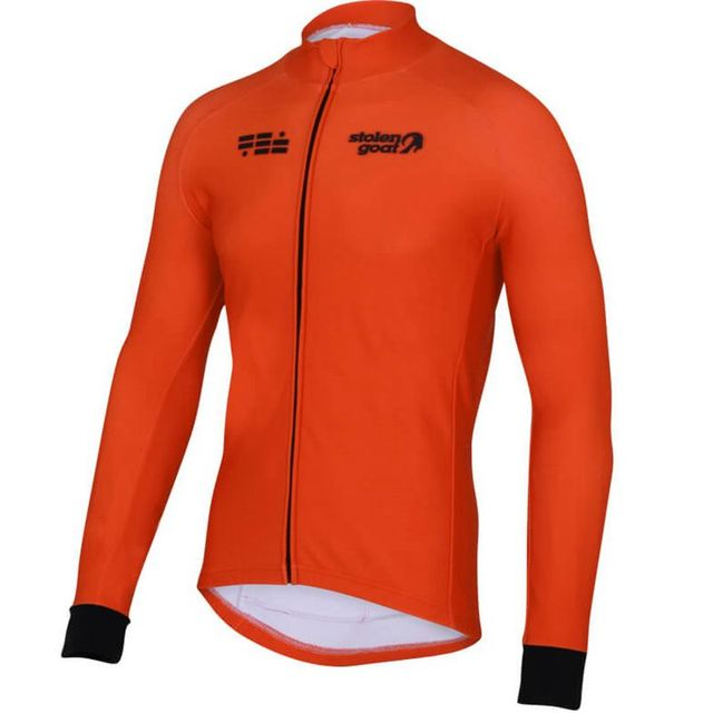 Stolen goat Long sleeve Orkaan Everyday LS Jersey Mens Blue cycling jersey bretelle ciclismo man MTB road bike racing clothing 4