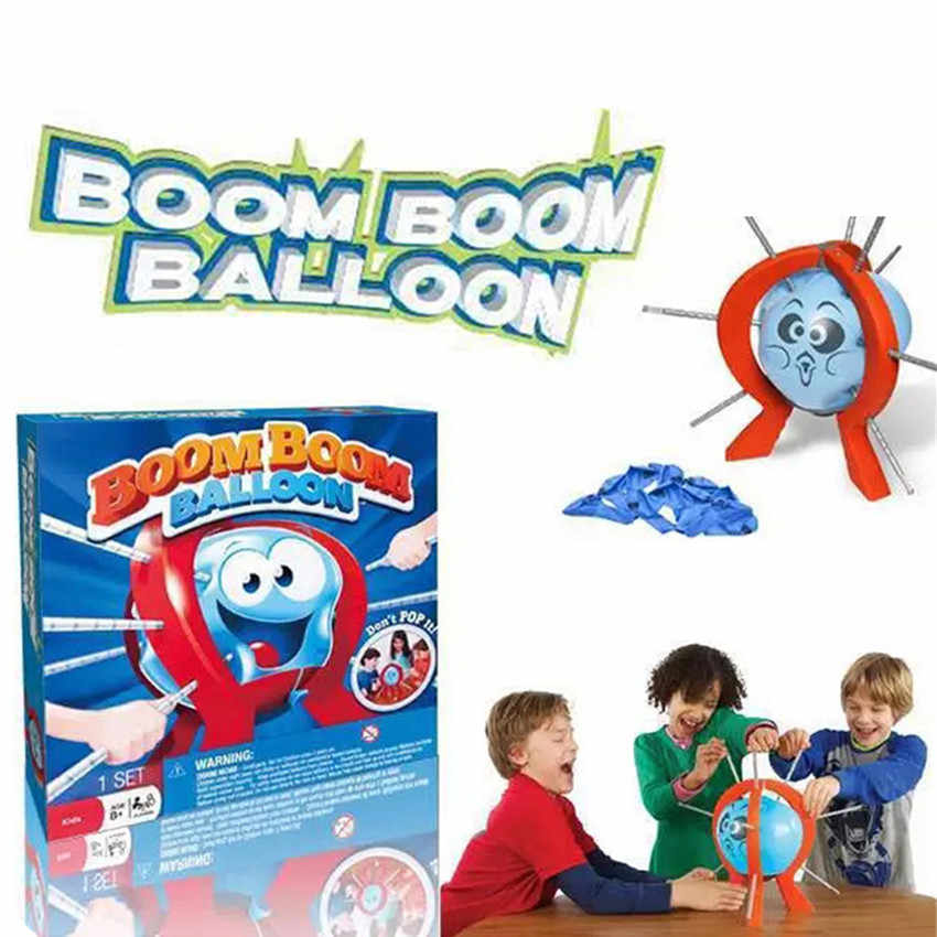 Stick Game Don/'t Pierce IT Like Boom Boom Kids Family Fun Board Game Balloon