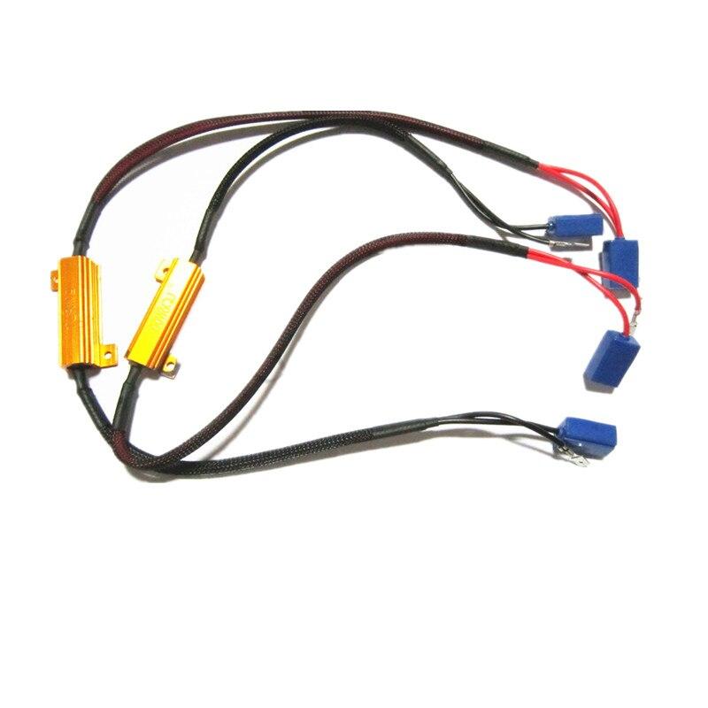 10 шт./лот H1 H3 LED декодер 50 Вт LED Противотуманные огни Canbus LED Предупреждение ошибка компенсатор никакой ошибки декодер Бесплатная доставка