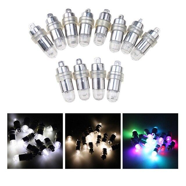 30 món Nhiều Trắng RGB Đèn LED Chống Nước Bóng Đèn Lồng Đèn Giấy Tiệc Cưới Centerpieces Trang Trí Bình Hoa 2017 Mới
