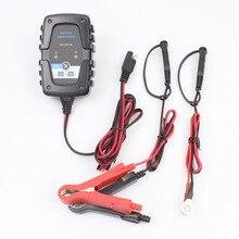 FOXSUR 6 V 12 V 1A scooter Caricabatterie Intelligente Della Batteria Auto e Moto Batteria Caricatore 100-240 V AC ingresso con SAE Connettore Rapido