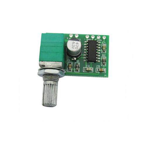 PAM8403 mini 5V digital amplifier board with switch potentiometer can be USB powered
