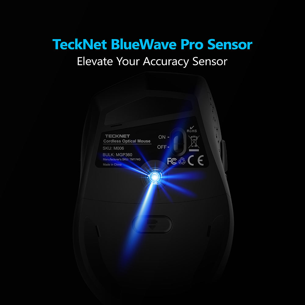 TeckNet Alpha Ergonomic Wireless Mouse TeckNet Alpha Ergonomic Wireless Mouse HTB1 MKNRVXXXXXIXXXXq6xXFXXXo