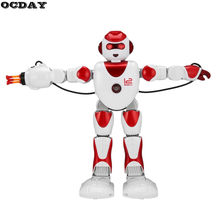 OCDAY K2/K3 Intelligent Alpha Robot Smart Programming Humanoid RC Robots Toys Demo Singing Dancing Robot Kids Educational Toy(China)