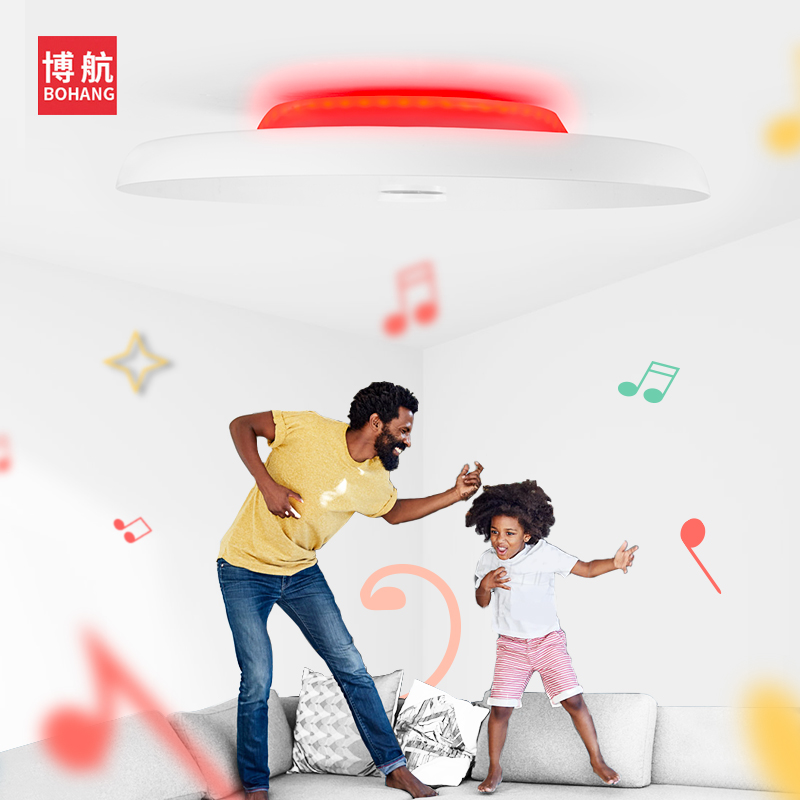 Moderno LED luces de techo regulable 36W 48W 72W APP control remoto Bluetooth música luz altavoz vestíbulo dormitorio lámpara de techo inteligente - 2
